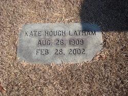 Katherine Victoria Kate <i>Hough</i> Latham