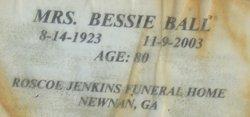 Bessie Ball