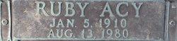 Ruby Vern <i>Acy</i> Jumel