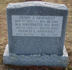 Henry A Arsenault