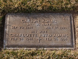 Charlotte Ruth Adams