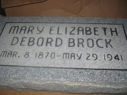 Mary Elizabeth <i>DeBord</i> Brock