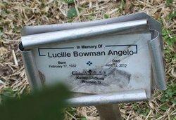 Lucille <i>Bowman</i> Angelo