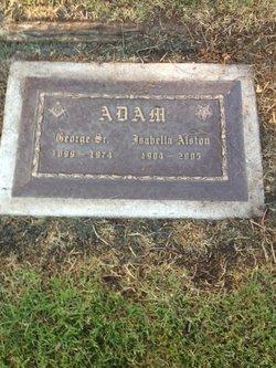 Isabella Alston <i>Thayer</i> Adam