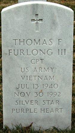 Thomas F Furlong, III