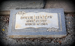 Dollie Lea <i>Amos</i> Law
