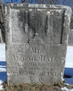 Abigail <i>Hitchcock</i> Hayes