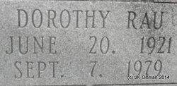 Dorothy <i>Rau</i> Adams