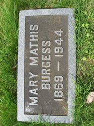Mary Ella <i>Mathis</i> Burgess