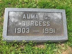 Alma May Muse <i>Graham</i> Burgess