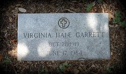 Virginia <i>Hale</i> Garrett