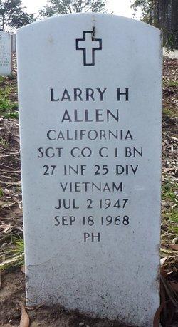 Sgt Larry Hugh Allen