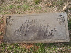 Augusta Almira Allie <i>McPherson</i> Alexander