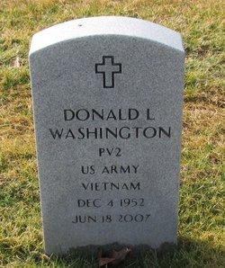 Donald L Washington