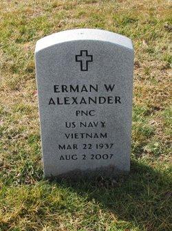 Erman W Alexander