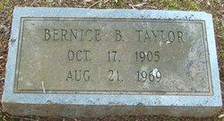 Bernice Catilda <i>Barbee</i> Taylor