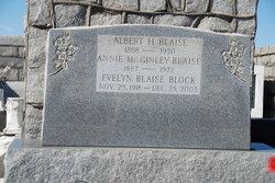 Annie <i>McGinley</i> Blaise