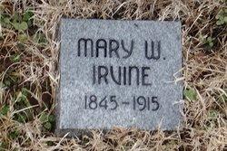 Mary Elizabeth <i>Warren</i> Irvine