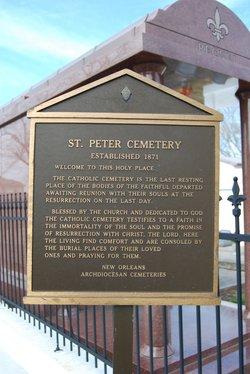 Saint Peter Catholic Church Cemetery