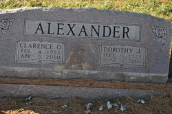 Dorothy J <i>Martine</i> Alexander