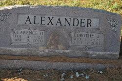 Clarence O Alexander