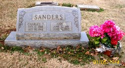 Annie <i>Evitt</i> Sanders