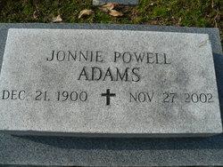 Jonnie Powell Adams