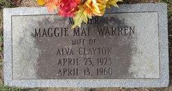 Maggie Mae <i>Warren</i> Clayton