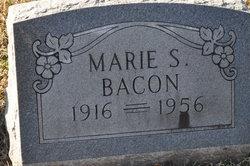 Marie S <i>Walton</i> Bacon