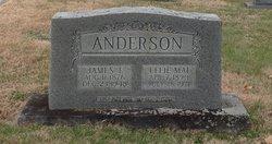 Effie Mai <i>Bennett</i> Anderson