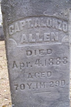 Capt Alonzo Allen