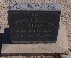 Merabe Emma <i>Lee</i> Morris