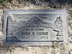 Sgt Mark Warren Bacher