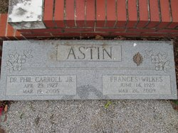 Frances <i>Wilkes</i> Astin