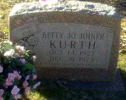 Betty Jo <i>Joiner</i> Kurth