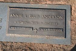 Annie Lee <i>Ellis</i> Anderson