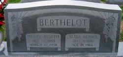 Henry Joseph Berthelot