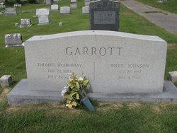 Willie <i>Johnson</i> Garrott
