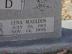 Lena <i>Mauldin</i> Blisard