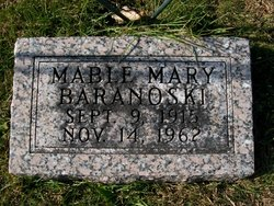 Mabel Mary <i>Thomas</i> Baranoski