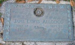 Jane Marietta <i>Lewis</i> Allgood
