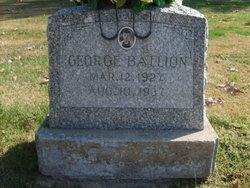 George Manuel Ballion