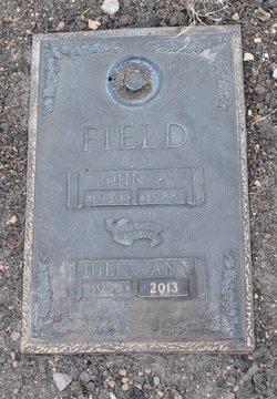 Julia Ann <i>Roberts</i> Field