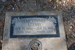 Fern <i>Cundiff</i> Allenby