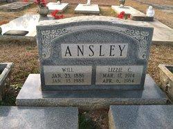 Lizzie <i>Clark</i> Ansley