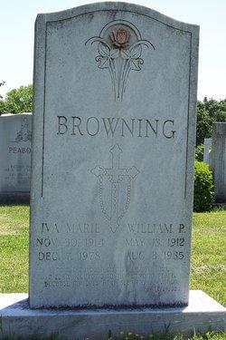 Iva Marie <i>Glass</i> Browning