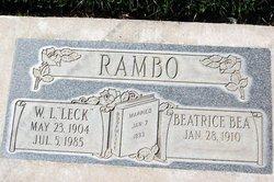 William Lester Leck Rambo
