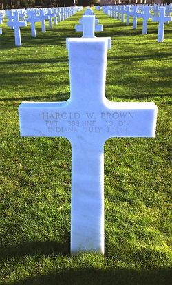 Pvt Harold William Brown