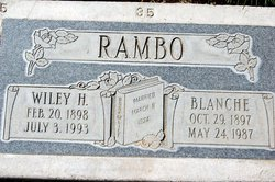 Wiley Hobart Rambo