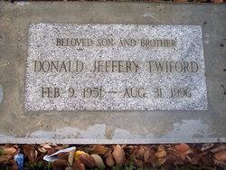Donald Jeffery Twiford